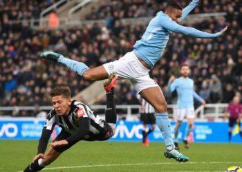 «Манчестер Сити» с трудом переигрывает «Ньюкасл» в матче 4 тура АПЛ