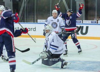 Обзор матча Нефтехимик — Динамо Минск (2:1), 7 сентября 2018