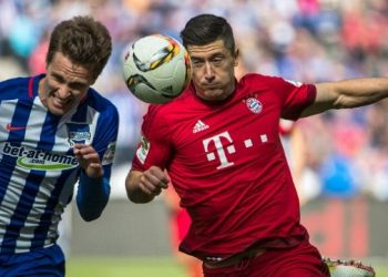 «Бавария» потерпела первое поражение в сезоне, всухую уступив «Герте»