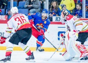 «Амур» терпит второе поражение подряд, уступив финскому «Йокериту»