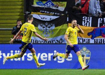 Обзор матча Швеция — Россия (2:0), 20 ноября 2018