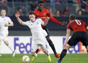 «Динамо» Киев уверенно переиграл французский «Ренн» и возглавил группу К