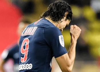 Хет-трик Кавани разрушил все надежды «Монако» в матче против ПСЖ