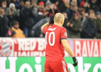 Гол Роббена в ворота «Бенфики» назван лучшим по итогам недели в ЛЧ