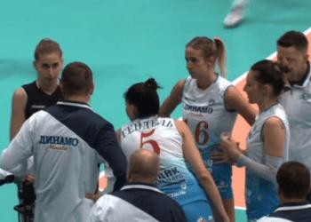 «Уралочка» сенсационно переиграла «Динамо» из Москвы в трех партиях