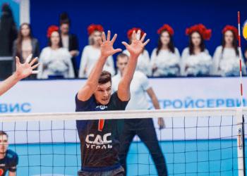 «Кузбасс» впервые за 7 лет обыграл московское «Динамо» в трех сетах