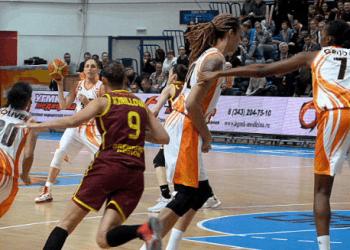Баскетболистки УГМК одержали 39-ю победу подряд, дома обыграв «Надежду»