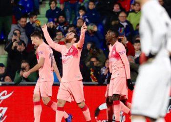 Гол Месси в четвертом матче подряд помог «Барселоне» победить «Хетафе»