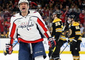 Дубль Овечкина помог «Вашингтону» справиться с «Бостоном»