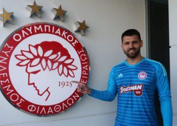 Лодыгин подписал контракт с греческим «Олимпиакосом»