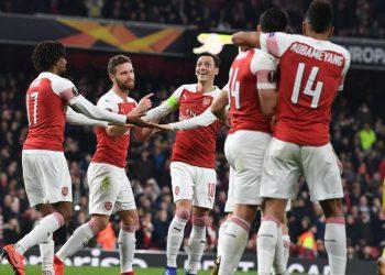 «Арсенал» нивелировал отставание от БАТЭ и вышел в 1/8 финала Лиги Европы
