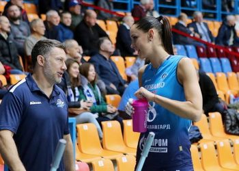 «Динамо» из Москвы обыграло «Протон» и вышло на первое место женской Суперлиги