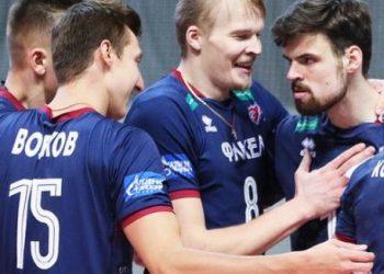 «Кузбасс» в пяти партиях обыграл «Факел» в центральном матче 21 тура Суперлиги