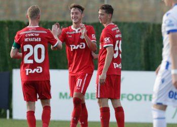 «Локомотив» уверенно переиграл норвежский «Хёугесунн»