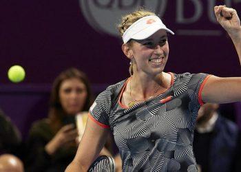 Элиза Мертенс выиграла турнир в Дохе, в финале обыграв Симону Халеп