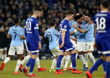Обзор матча Шальке — Манчестер Сити (2:3), 20 февраля 2019
