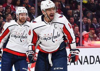 650-я шайба Овечкина в НХЛ помогла «Вашингтону» победить «Торонто»