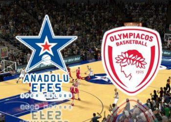 Прогноз Анадолу Эфес – Олимпиакос (21 февраля 2019), ставки и коэффициенты