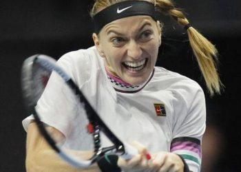 Квитова не сумела защитить чемпионское звание в Санкт-Петербурге, уступив Векич
