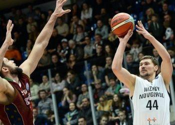 «Нижний Новгород» уверенно переиграл чемпиона Италии в первом матче 1/8 финала Лиги чемпионов