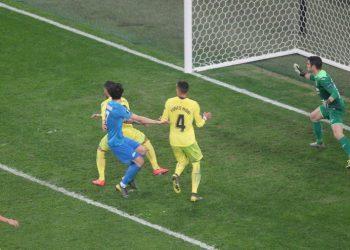Гол Азмуна не спас «Зенит» от поражения в матче 1/8 финала против «Вильярреала»