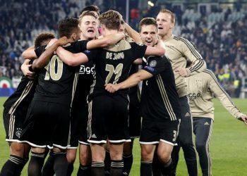 «Аякс» одержал победу над «Ювентусом» в Турине и вышел в 1/2 финала Лиги чемпионов