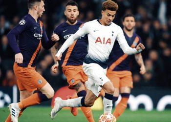 «Тоттенхэм» минимально переиграл «Ман Сити» в английском четвертьфинале