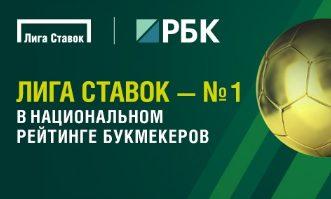 БК Лига Ставок возглавляет Национальный рейтинг букмекеров