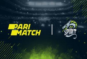 БК Parimatch и команда Team Spirit подписали соглашение о сотрудничестве