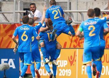 Сборная Украины выиграла Чемпионат мира по футболу U20
