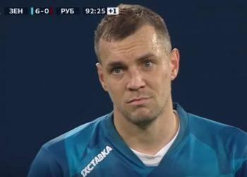 Дзюба призвал засчитать собственный гол в ворота «Рубина»