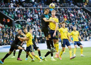 «Краснодар» забил дважды в компенсированное время и ушёл от поражения в южном дерби