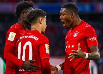 «Бавария» и «Боруссия» отпраздновали разгромные победы