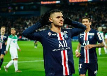 Хет-трик Икарди помог ПСЖразгромить «Сент-Этьен» в Кубке Лиги