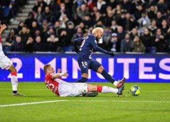 «ПСЖ» и «Монако» сыграли вничью в матче с шестью голами