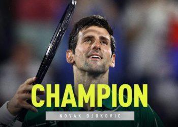 Джокович пятый раз в карьере выиграл турнир в Дубае