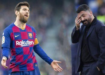 Обзор матча Наполи — Барселона (1:1), 25 февраля 2020