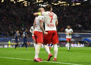 «РБ Лейпциг» прошёл «Тоттенхэм» в Лиге чемпионов с общим счётом 4:0