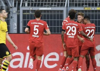 Обзор матча Боруссия Дортмунд — Бавария (0:1), 26 мая 2020