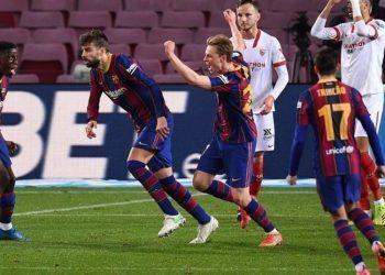 «Барселона» вышла в финал Кубка Испании, отыгравшись с 0:2